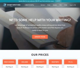 DoMyWriting Promo Code