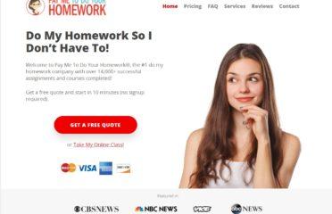 PayMeToDoYourHomework Discount Code