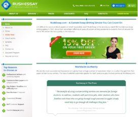RushEssay 13% Discount Code