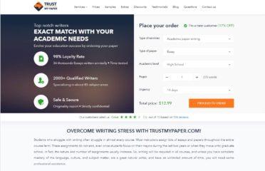 TrustMyPaper 11% Discount Code