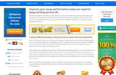 BritishEssayWriter 14% Discount Code