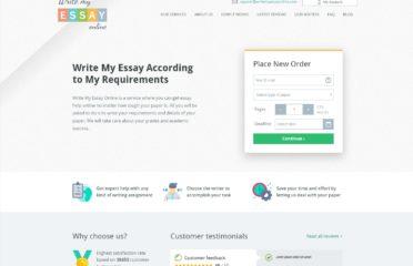 WriteMyEssayOnline 20% Discount Code