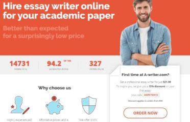 A-Writer Discount Code